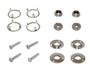 FRONT RUBBER MAT SNAP FASTENER
