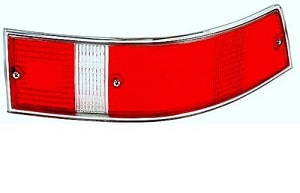 TAILLIGHT LENS SILVER USA 69-89