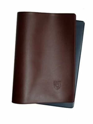 Owners Manual Cover Maroon& Blue