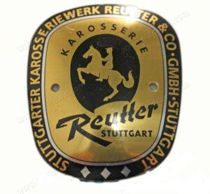 356A Euro Reutter Badge