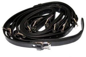 Black luggage rack strap 356