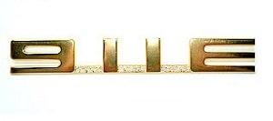 911E EMBLEM GOLD