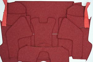 COUPE CARPET SET 356/A/B/C