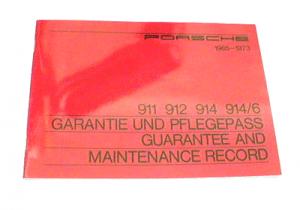 Guarantee & Maintenance Book