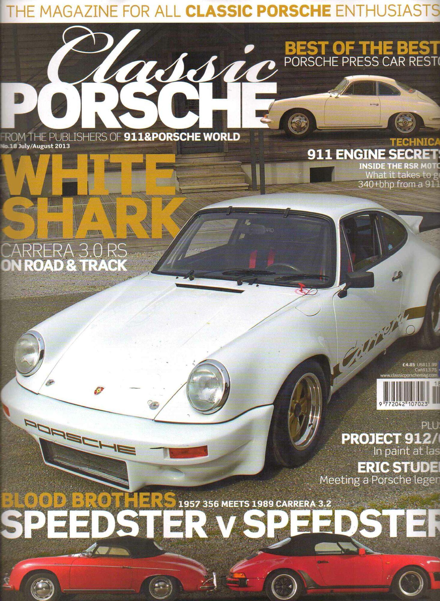 Classic Porsche July /August 2013