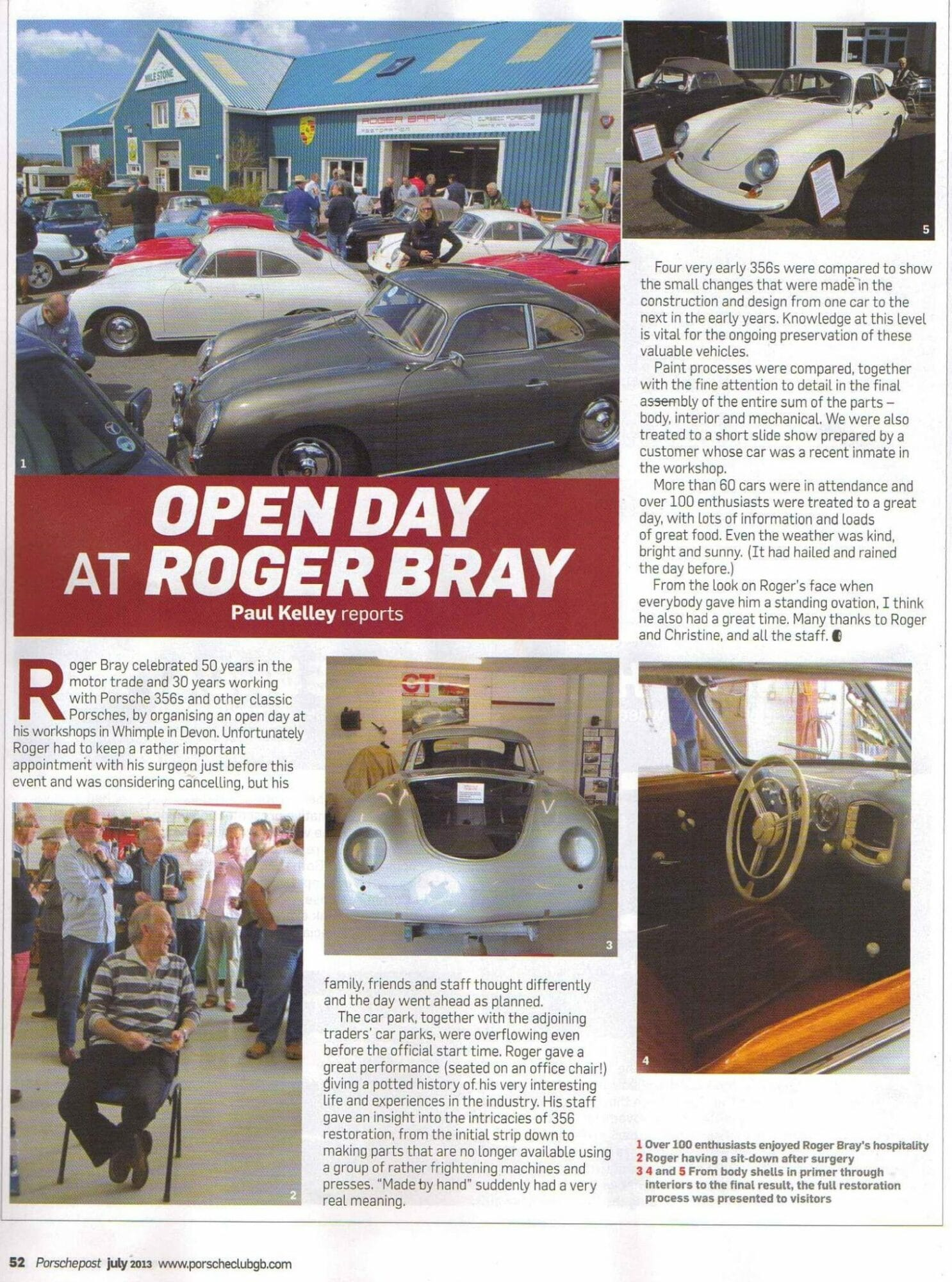 Porsche Post July 2013