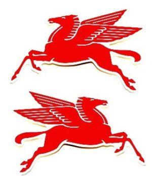 Racing Pegasus Decal Set - Image 2
