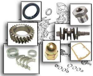 ENGINE CRANKSHAFT & CASE
