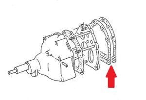 TRANSMISSION SPACER GASKET 519