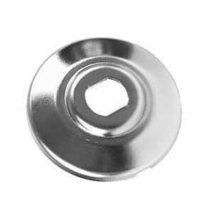 Inner Half Pulley Silver W/Notch