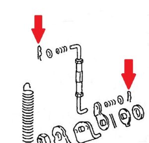 ZENITH PUMP CONTROL LINK LOCK