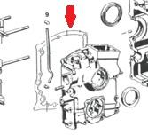 CRANK CASE GASKET 356C / 912