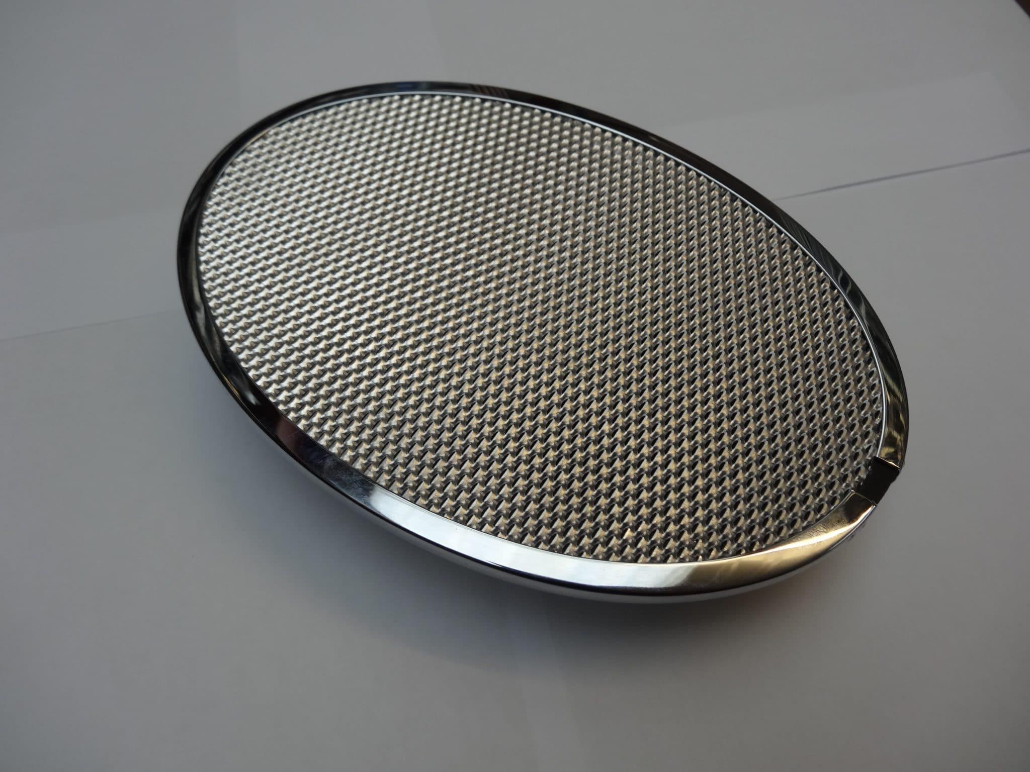 Speaker Amp Grill Set Oval 356abt5 For Porsche 356 C254