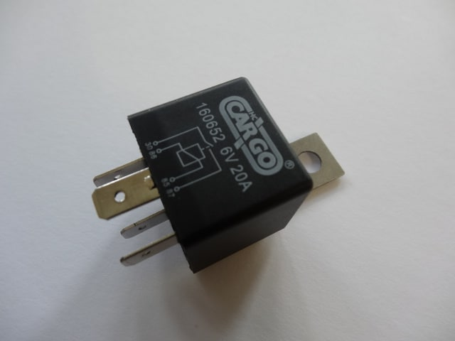 6 Volt Horn  Headlight Relay 356 For Porsche 356